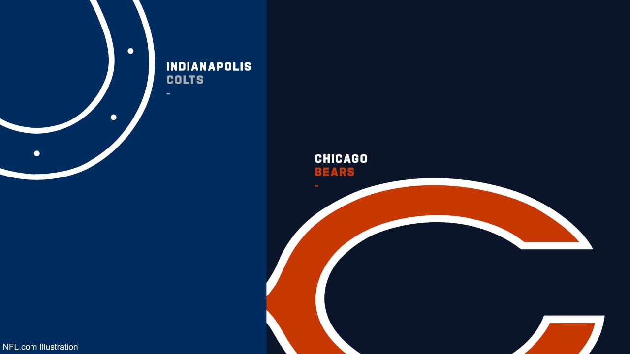 Colts-Bears Week 4 game rescheduled for 4:25 pm ET