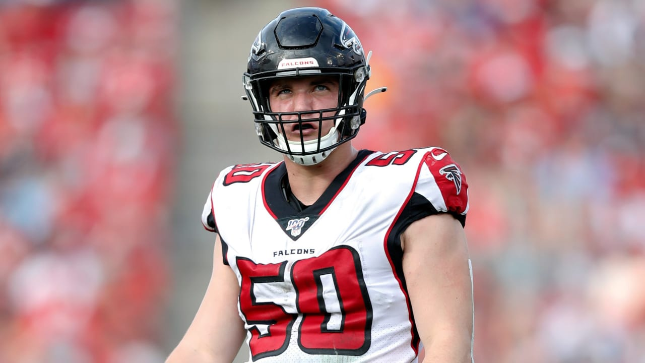 Falcons DE John Cominsky tests positive for COVID-19, placed on reserve list