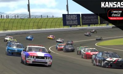 Live iRacing: eNASCAR Coca-Cola Series playoffs at Kansas Speedway