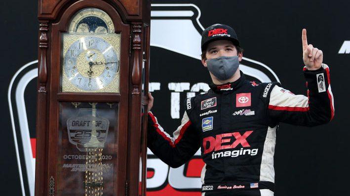 Harrison Burton wins Martinsville Xfinity race