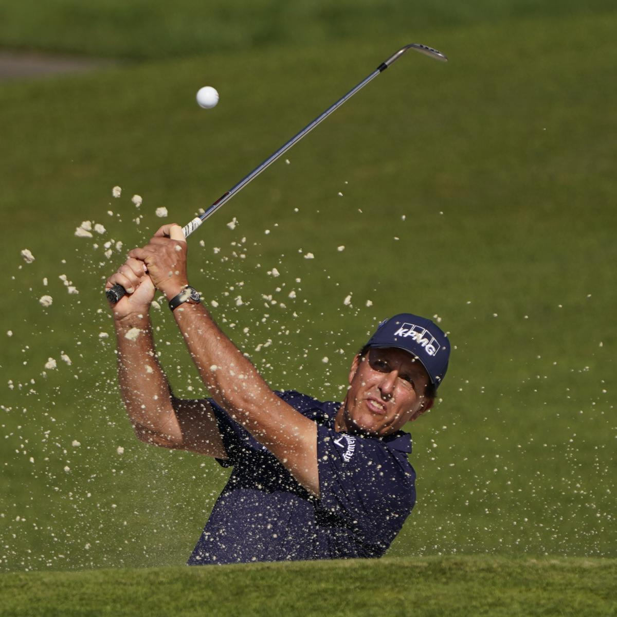 Phil Mickelson, Charles Barkley Win Capital One's 'The Match' vs. Manning, Curry