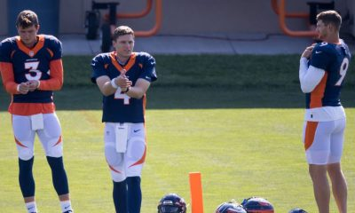 Broncos fined quarterbacks for COVID-19 protocol violations
