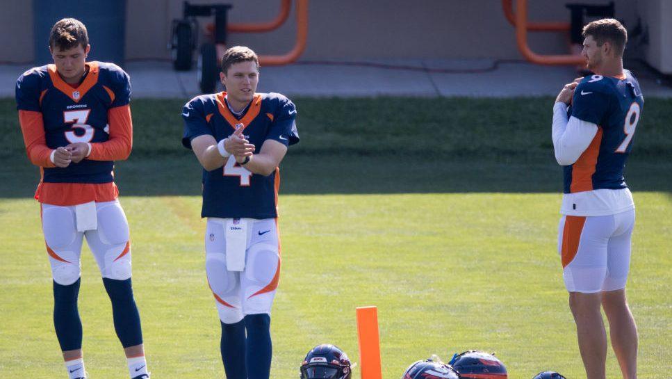 Broncos fined quarterbacks for COVID-19 protocol violations