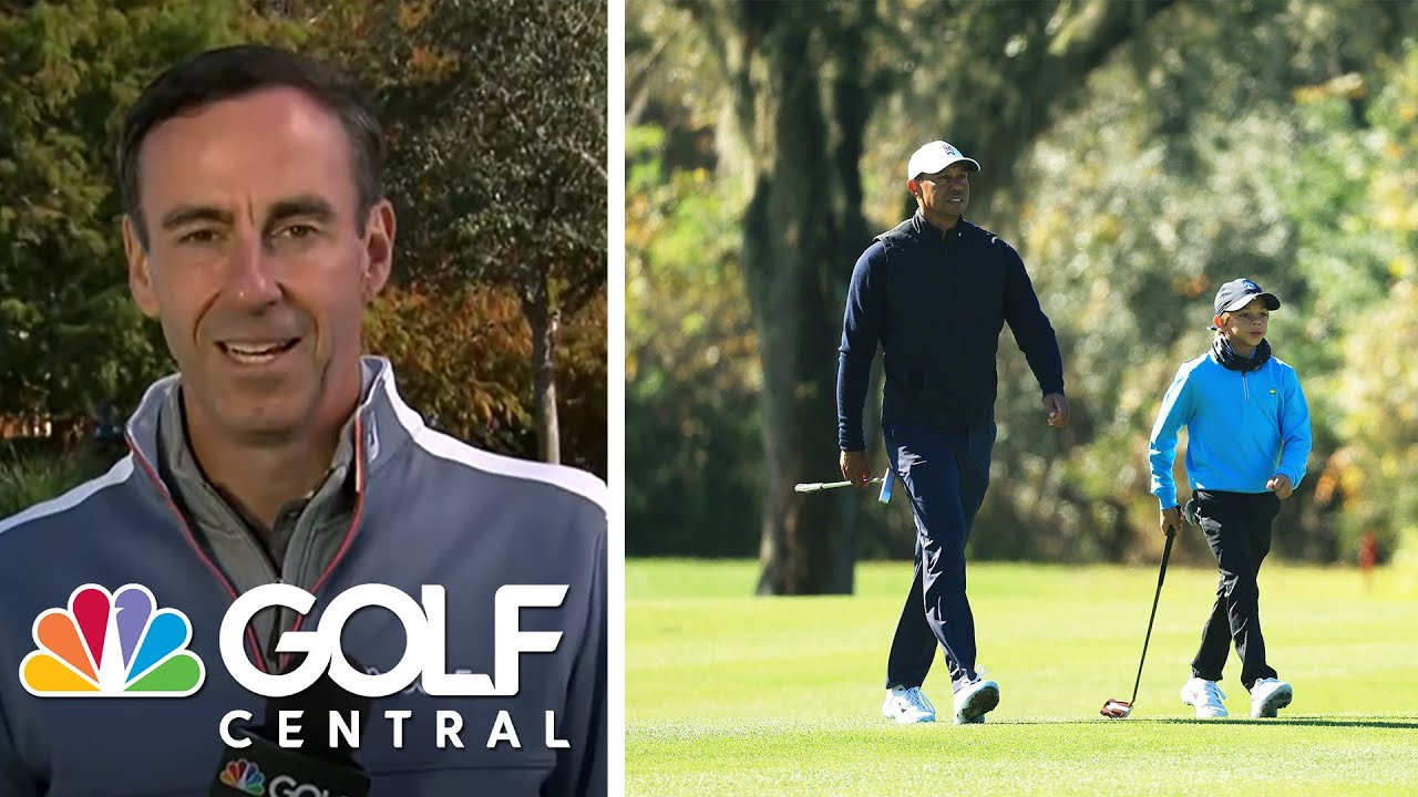 CME Round 2 highlights, Tiger and Justin Thomas on playing together | Golf Central | Golf Channel