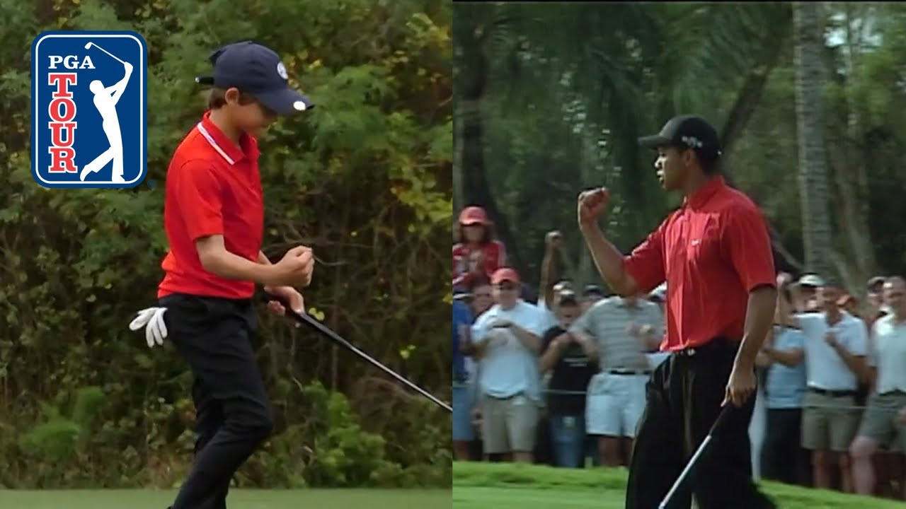 Tiger and Charlie: Like Father, Like Son at the PNC Championship