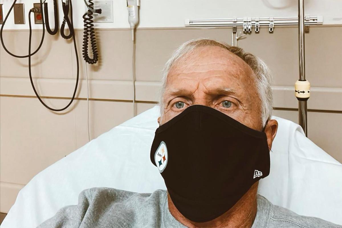 Greg Norman quarantining at home after Christmas hospital visit: 'F–k COVID'