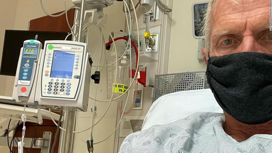 'Like a chisel going through your head': Greg Norman delivers graphic account of dealing with Covid-19 symptoms