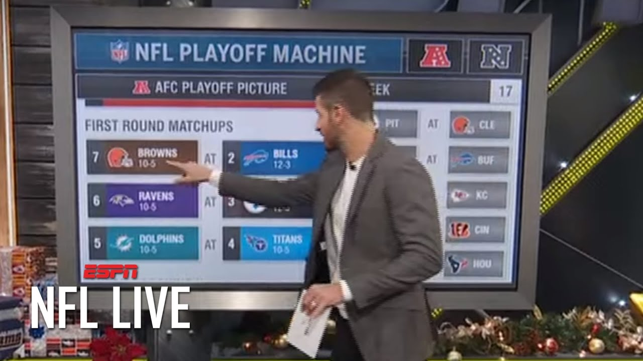 Breaking down all the AFC playoff scenarios going into Week 17 | NFL Live