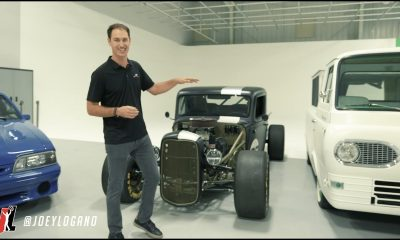 NASCAR Garage Tour: Joey Logano shows off his Ford collection