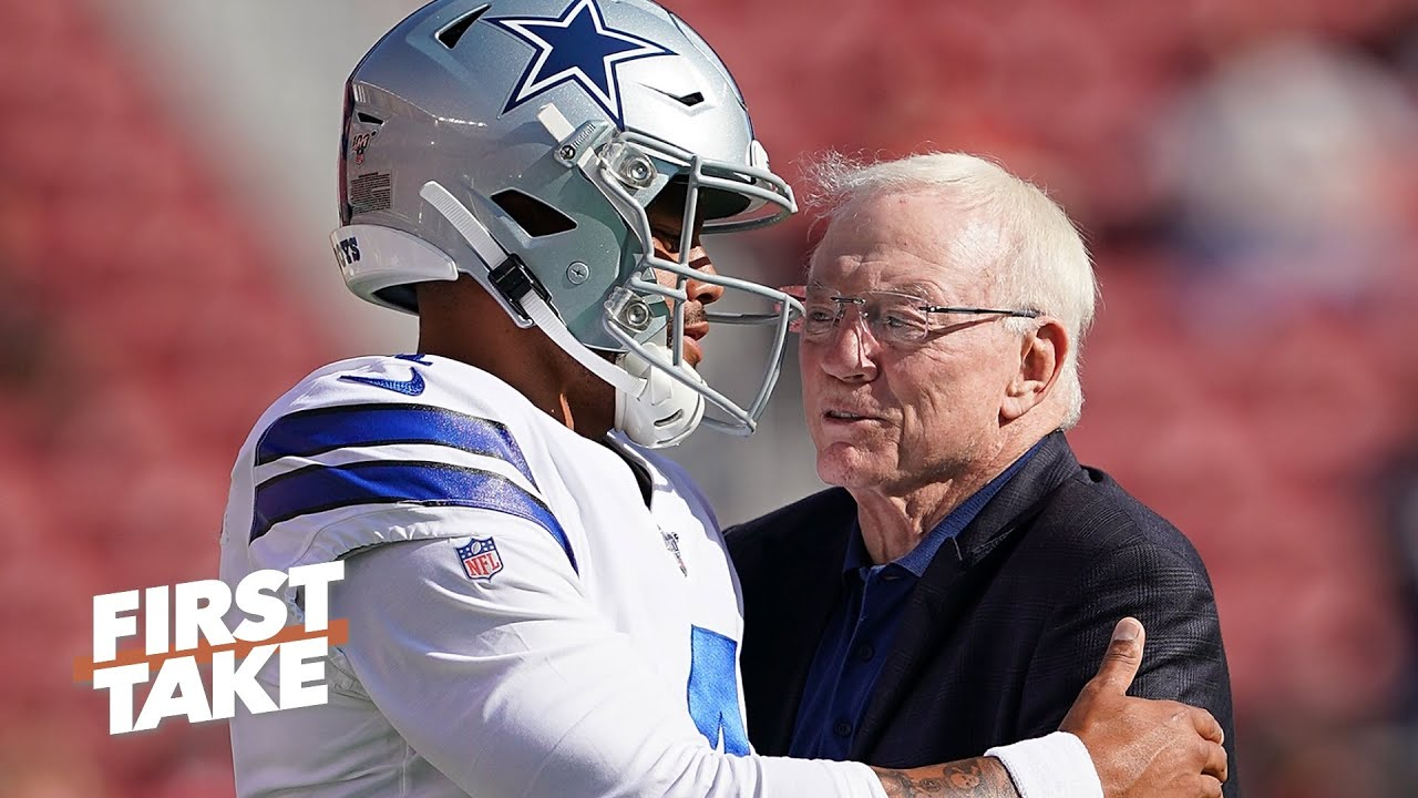 How concerned should Jerry Jones be about a deal for Dak Prescott? | First Take