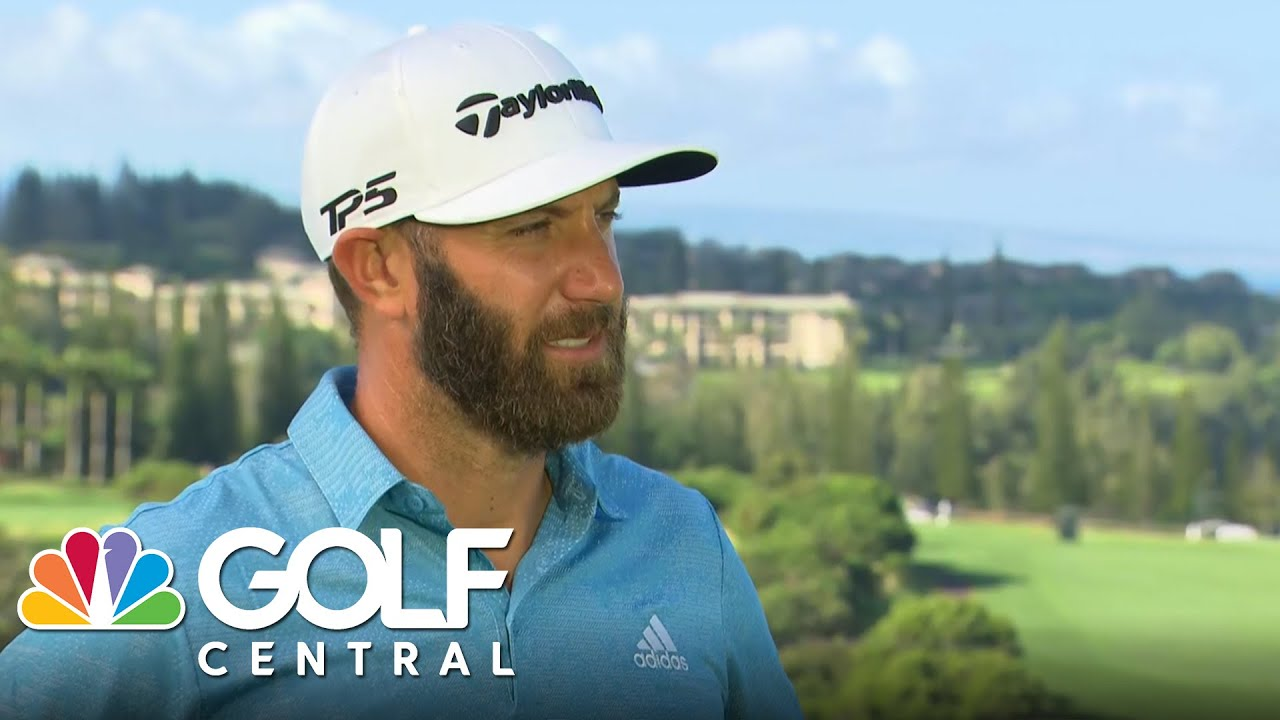 Dustin Johnson discusses preparation for Tournament of Champions | Golf Central | Golf Channel