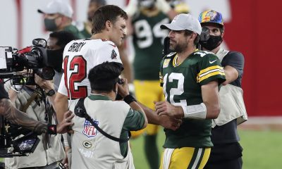 Tom Brady and Aaron Rodgers are flipping a middle finger after offseason of NFL preparing for life after them