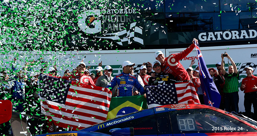 NASCAR Drivers Relish Rolex 24 Opportunities