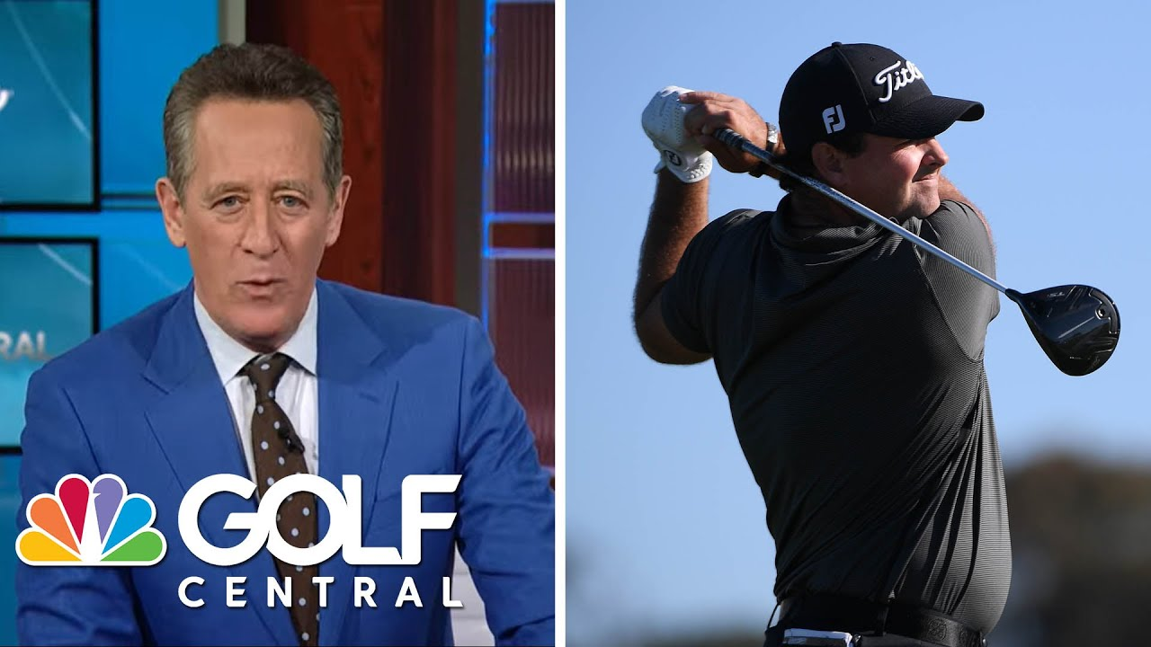 Patrick Reed explains incident on 10th hole at Farmers Insurance Open | Golf Central | Golf Channel