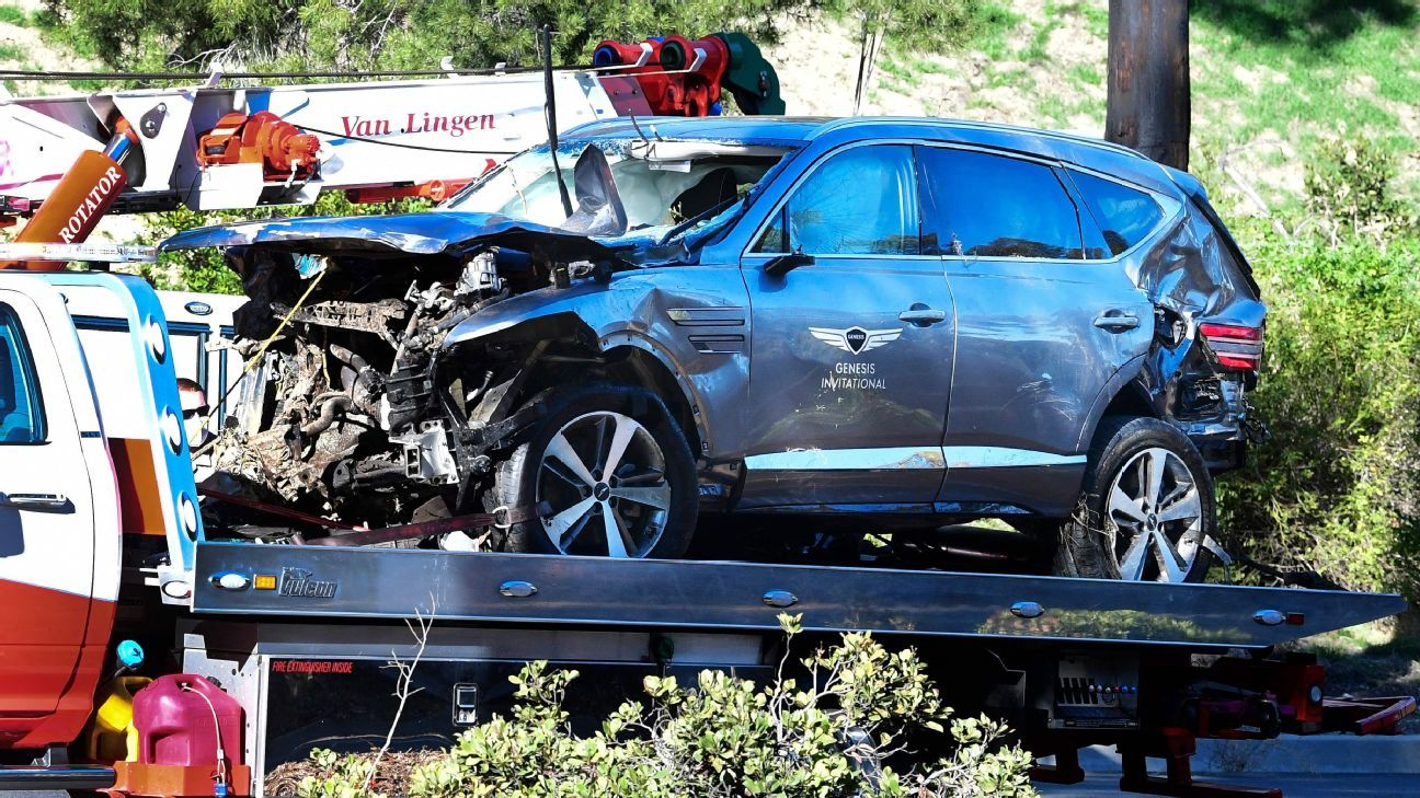 LA County Sheriff says Tiger Woods was 'not drunk' during crash –