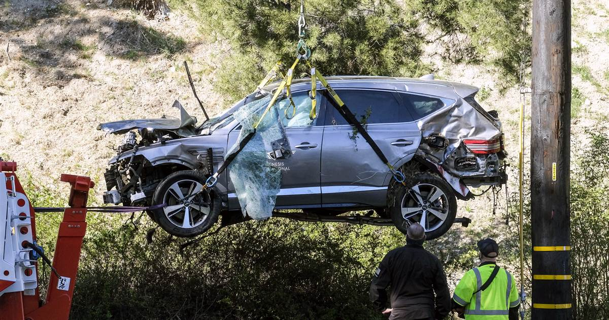 Tiger Woods moved to Cedars-Sinai to continue recovery after crash