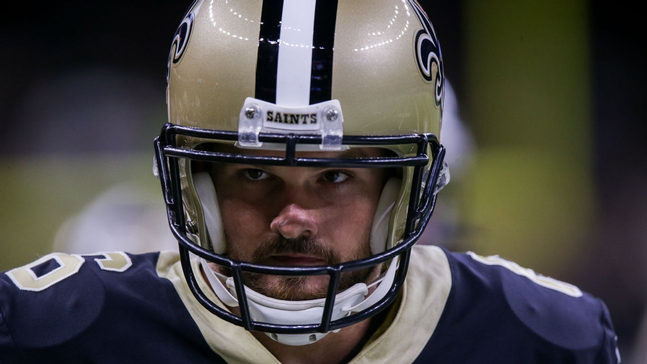 Thomas Morstead, longtime standout New Orleans Saints punter, released after 12 seasons