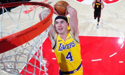 Lakers' Alex Caruso declined NBA slam dunk contest invite, per report, 'looking forward' to All-Star break