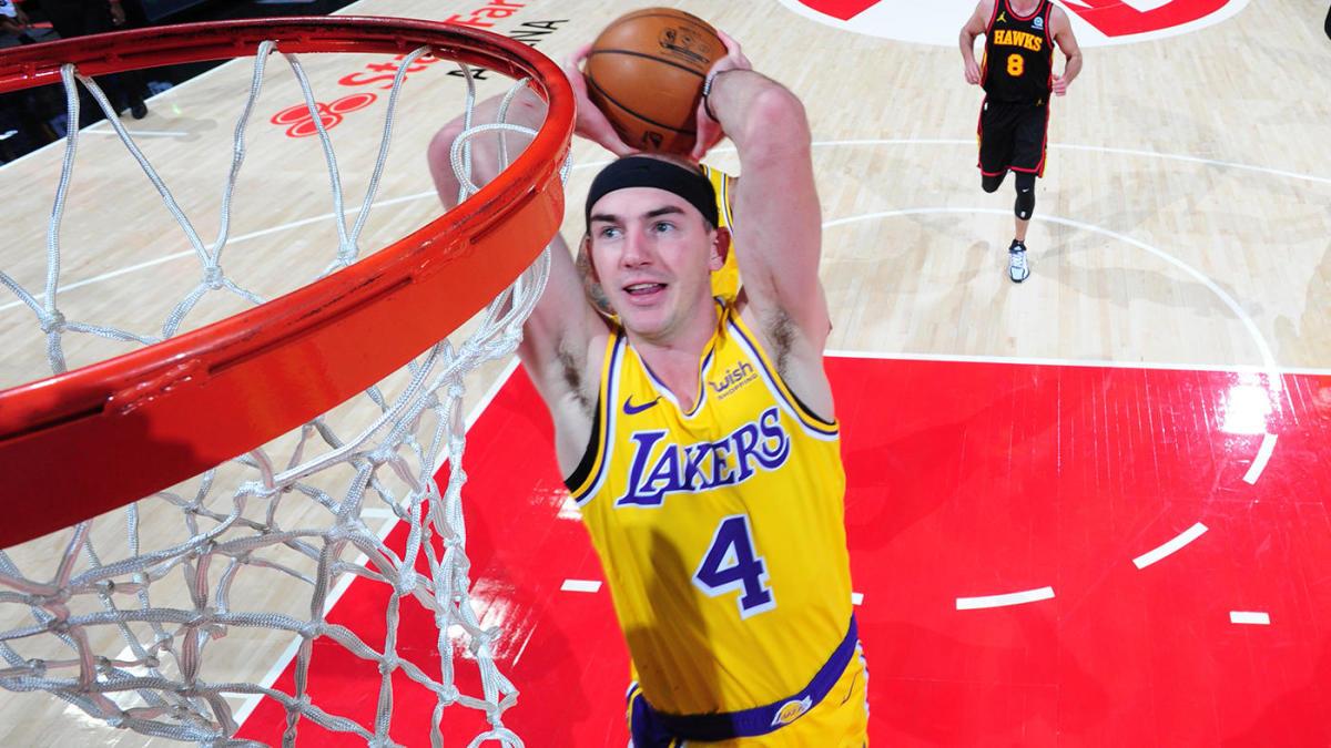 Lakers' Alex Caruso declined NBA slam dunk contest invite, per report, 'looking forward' to All-Star break
