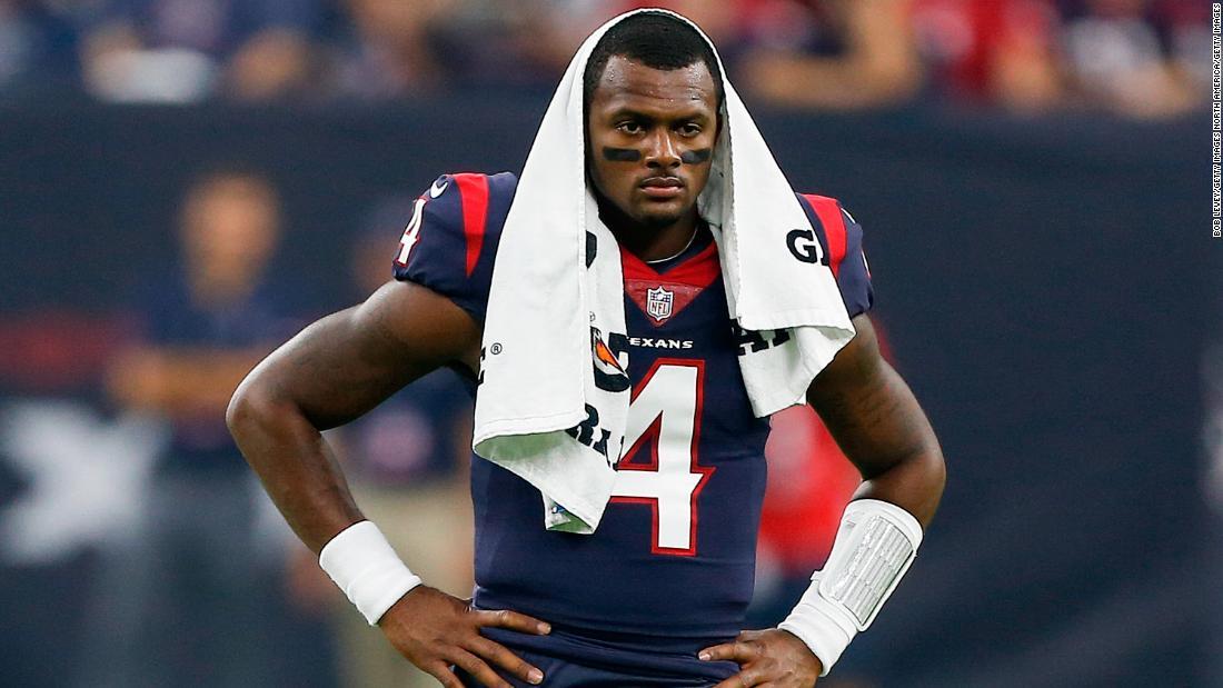 NFL star Deshaun Watson sued for alleged sexual assaults