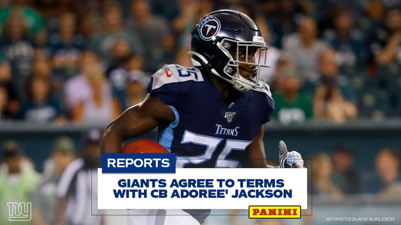 Giants reportedly agree to terms with CB Adoree' Jackson