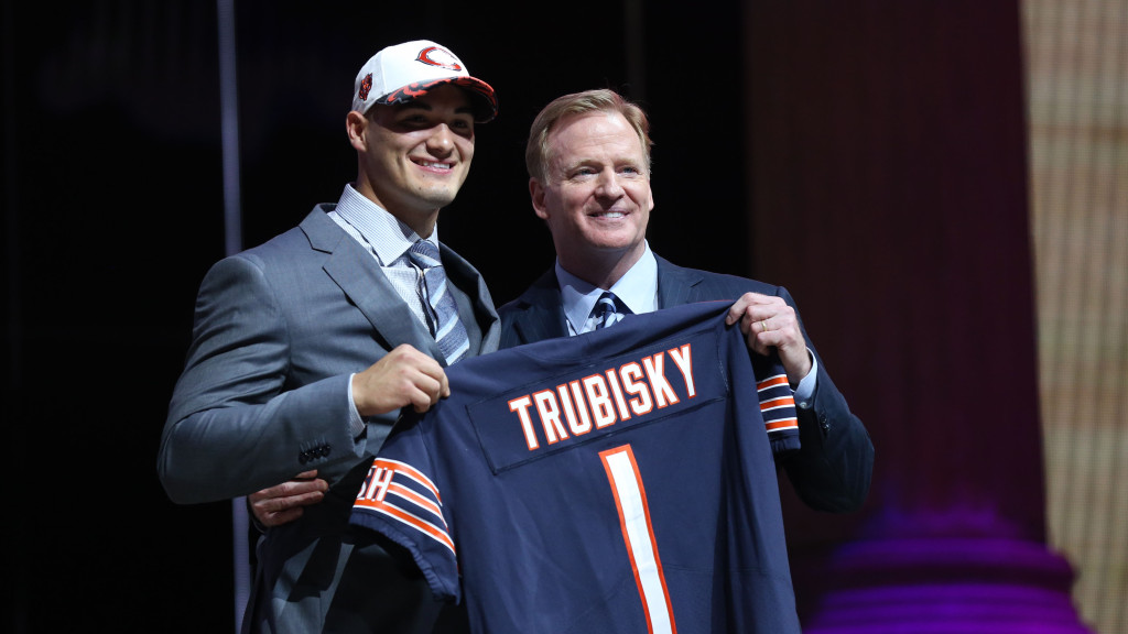 The Browns wanted to select Mitchell Trubisky with 1st overall pick in 2017 NFL Draft