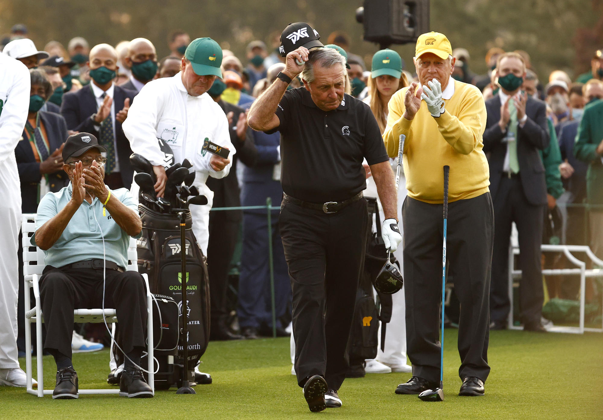 Gary Player's son apparently 'banned' from Masters after opening ceremony stunt
