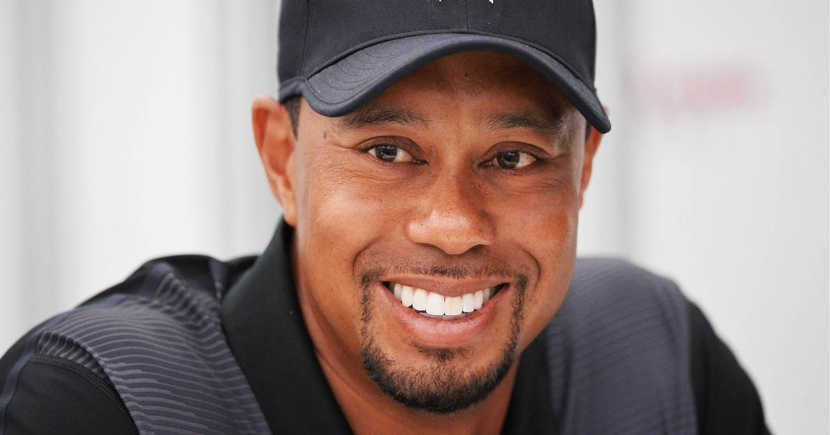 Tiger Woods on crutches with his 'faithful rehab partner' in first photo since crash