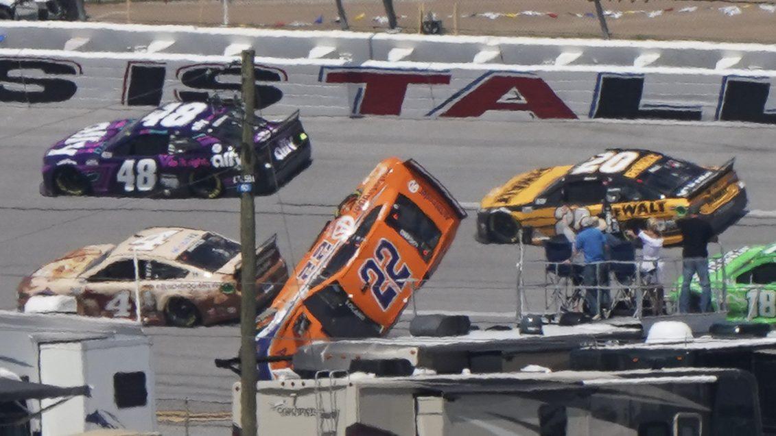 NASCAR investigating Joey Logano's Talladega crash