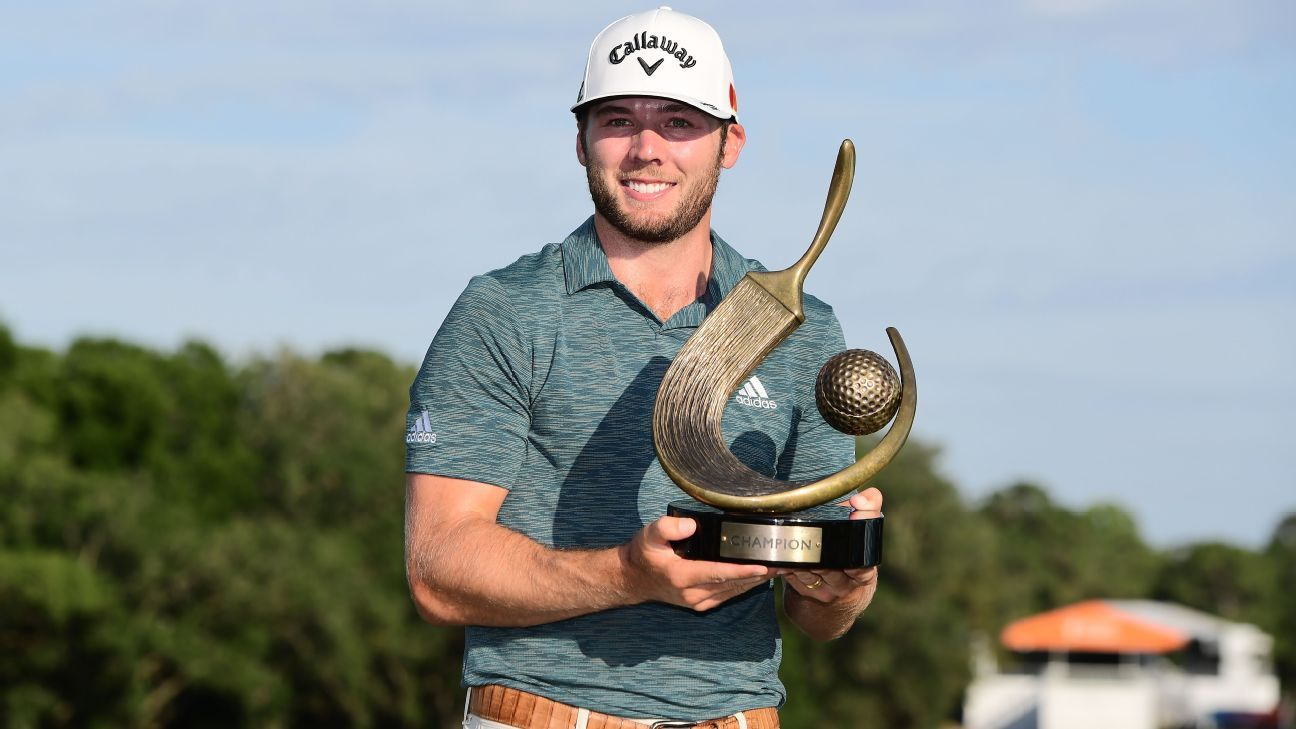 Sam Burns, 24, wins Valspar Championship for first PGA Tour title