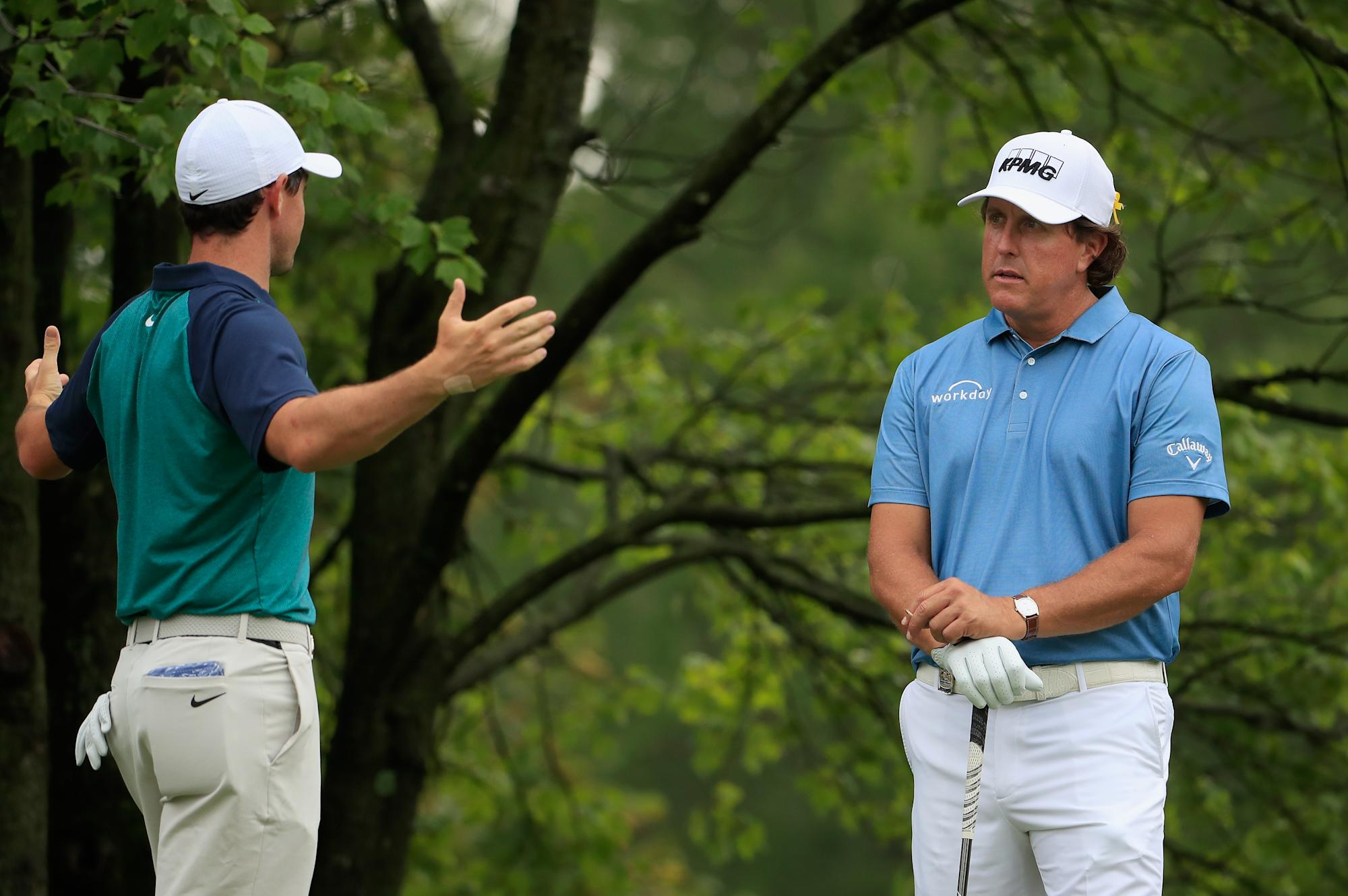 Rory McIlroy calls proposed golf super league a 'money grab;' Phil Mickelson thinks it's 'interesting'
