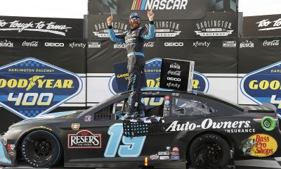 Martin Truex Jr. wins at Darlington for third NASCAR Cup Series victory this year