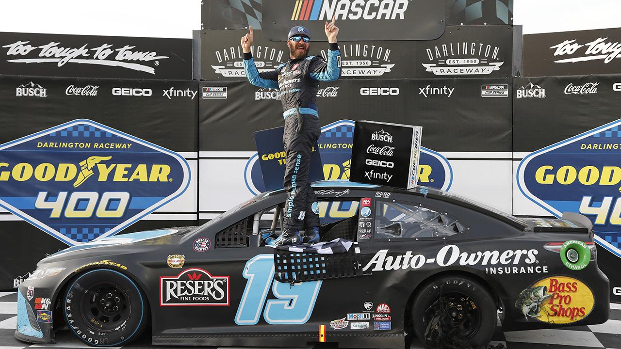Martin Truex Jr. wins at Darlington for third NASCAR Cup Series victory this year
