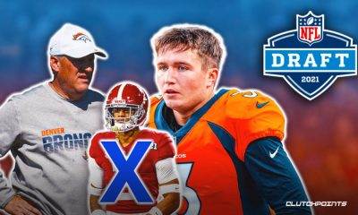 2 mistakes by the Denver Broncos in the 2021 NFL Draft