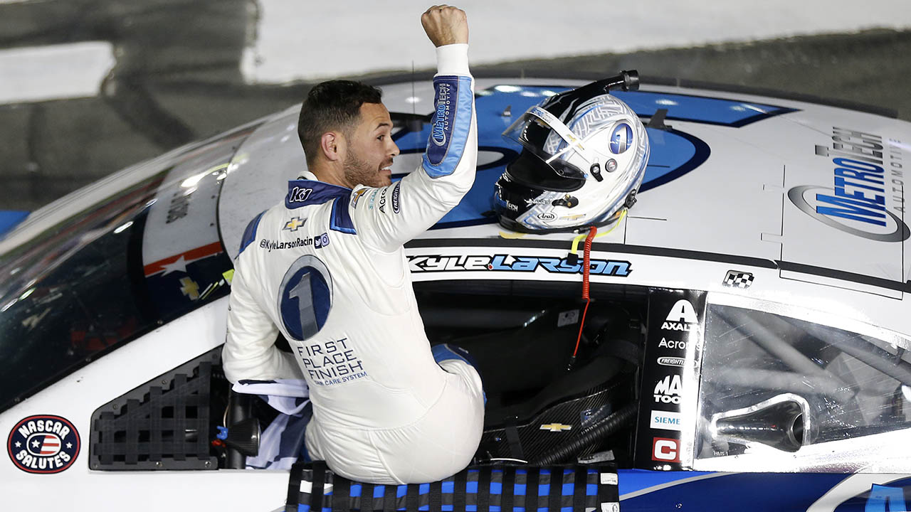 Kyle Larson wins NASCAR Coca-Cola 600 to claim all-time record for Hendrick Motorsports