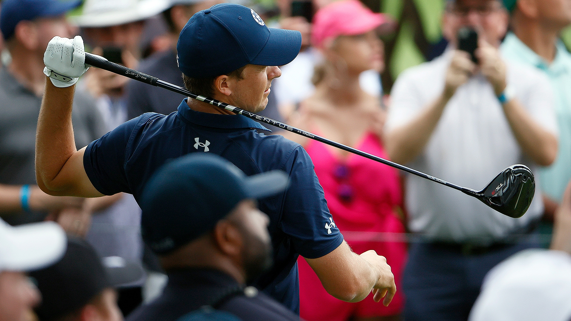 With 'no freaking clue' where his ball was going, Jordan Spieth struggles Sunday at Colonial