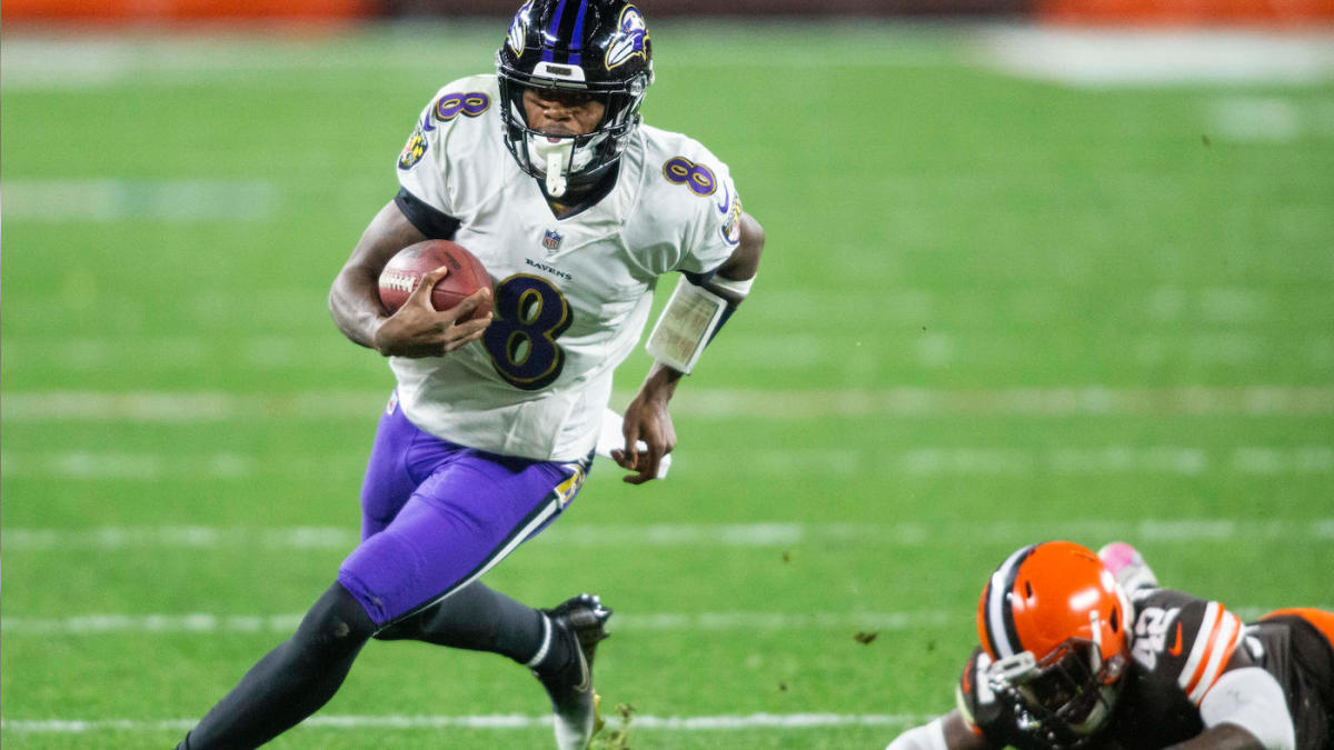 Lamar Jackson names his biggest tangible and intangible goals as he heads into his fourth NFL season