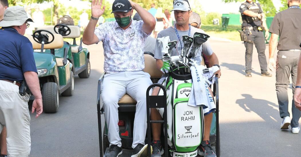 Jon Rahm Withdraws From Memorial Tournament After Positive Coronavirus Test