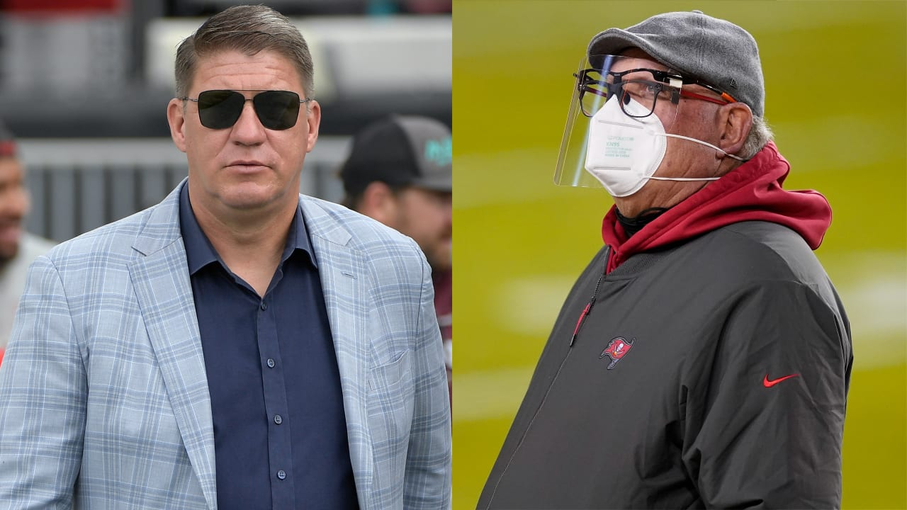 Buccaneers coach Bruce Arians, GM Jason Licht receive new contracts