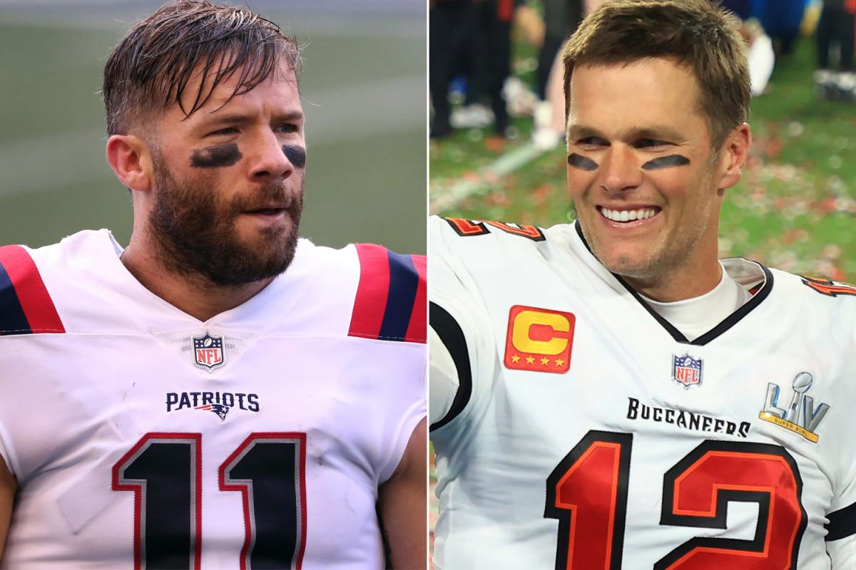 Julian Edelman trolls Tom Brady over 'Madden NFL 22' cover