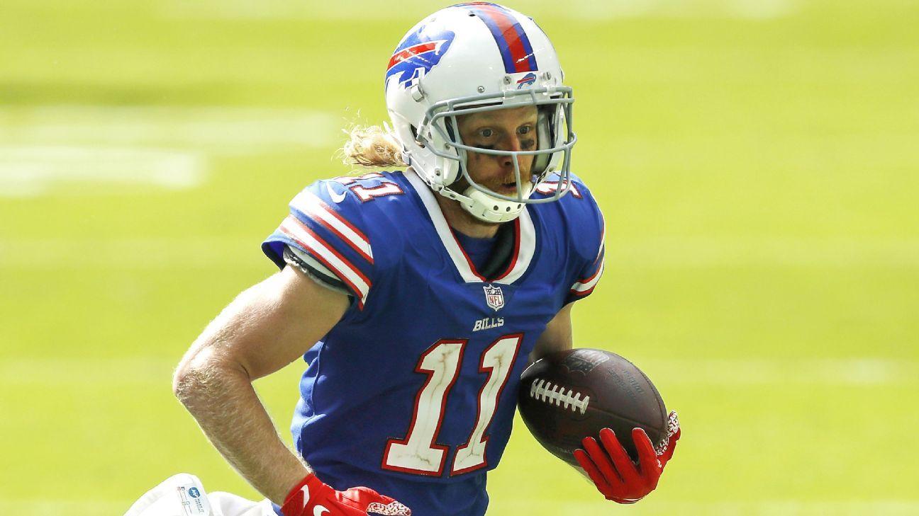 Buffalo Bills WR Cole Beasley addresses virus protocol concerns with NFLPA