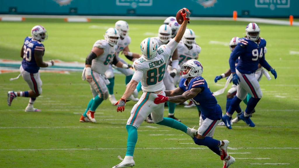Dolphins' toughest 4-game stretch in 2021 by win likelihood