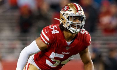 Niners linebacker Fred Warner's lucrative contract has a unique structure, with two deals in one