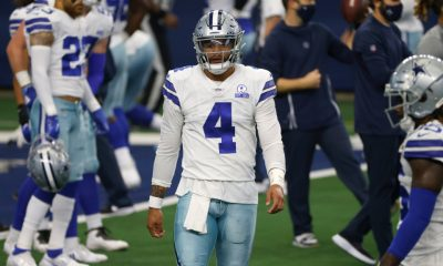 Prescott to miss few weeks of Cowboys camp with shoulder injury