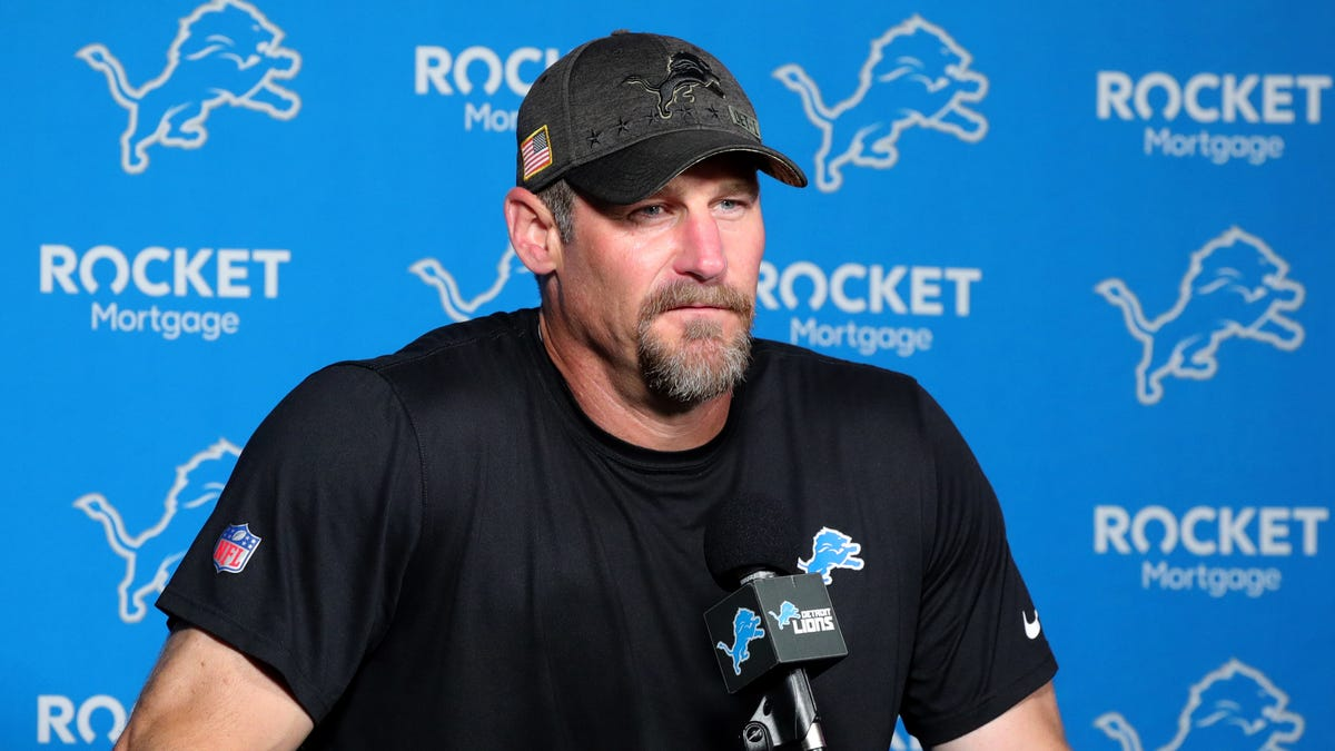 Dan Campbell explains why Detroit Lions have one open spot on 90-man roster