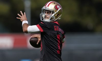Kyle Shanahan: Jimmy Garoppolo at his best can beat out any rookie QB
