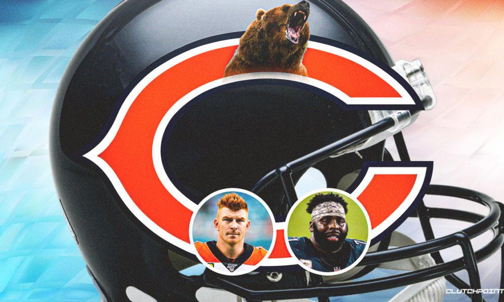 2 Bears first-stringers in danger of losing starting jobs before NFL season