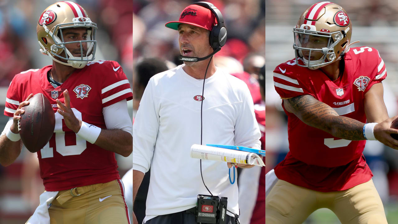 Kyle Shanahan: 'I don't need to announce' 49ers' starting quarterback