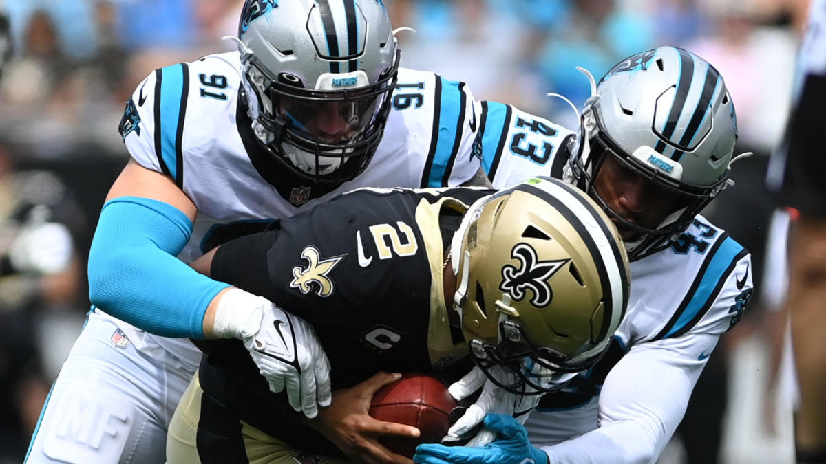 NFL Week 2 grades: Saints get an 'F' for ugly loss to Panthers, Packers earn 'A-' for Monday night win