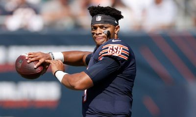 Bears QB Justin Fields, complete with photographic memory, debuts as starter in Week 3